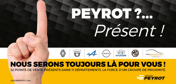 GROUPE PEYROT, PRESENT ! - Concession HYUNDAI Cahors